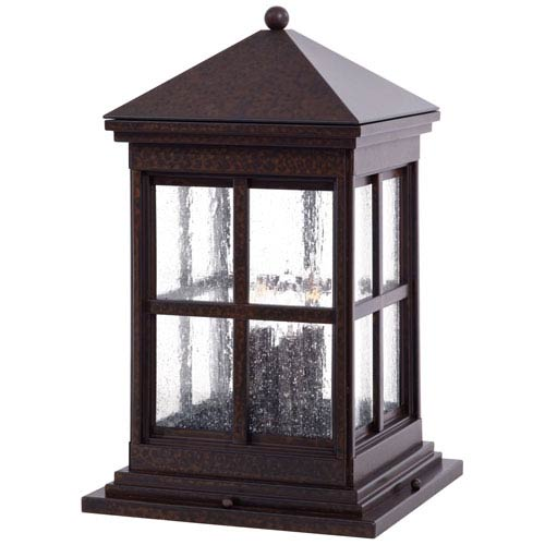 Berkeley Column Mount Exterior Light