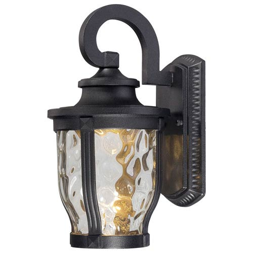 Minka-Lavery Merrimack One-Light LED Outdoor Wall Mount in Black