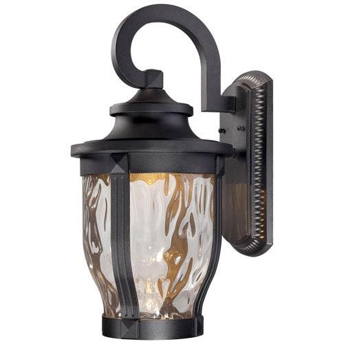 Merrimack One-Light LED Outdoor Wall Mount in Black