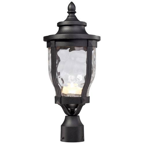 Merrimack One-Light LED Outdoor Post Mount in Black