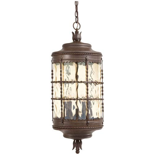 Minka-Lavery Vintage Rust Five-Light Outdoor Pendant