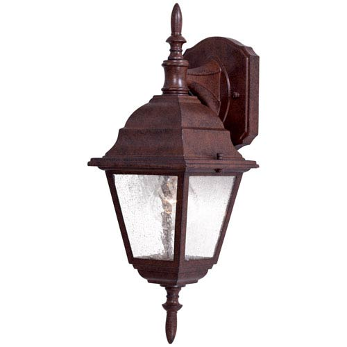 Minka-Lavery Bay Hill Antique Bronze One-Light Top Mount Outdoor Wall Mount