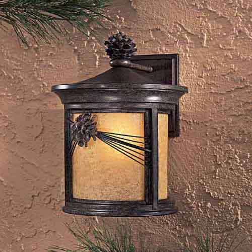 Abbey Lane Large Fluorescent Outdoor Wall Light