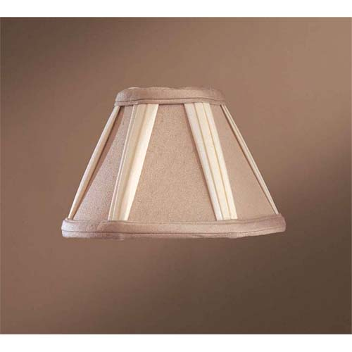 French Drapery Chandelier Shade