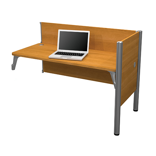 Pro-Biz Cappuccino Cherry 43-Inch High Simple Add on Section