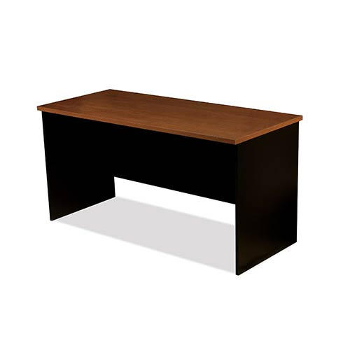 Bestar Innova Tuscany Brown and Black Free Standing Table