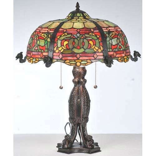 25-Inch Viking D&K Table Lamp