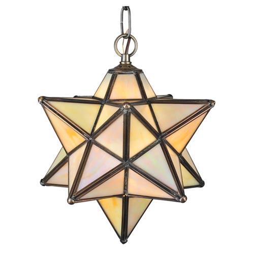 Meyda Tiffany 12 Inch Moravian Star Pendant