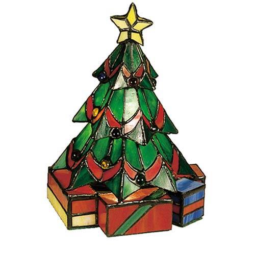 9 x 7 Tiffany Christmas Tree Accent Lamp