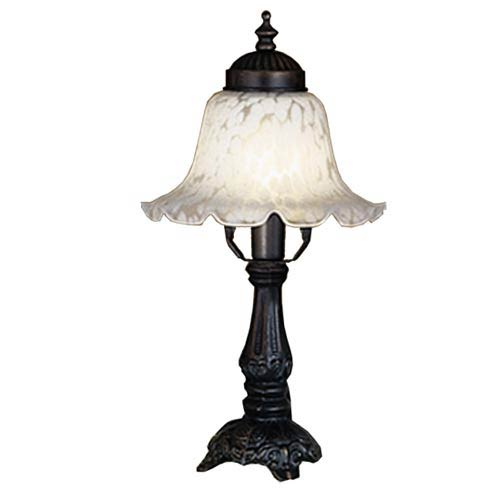 6-Inch White Bell Accent Lamp