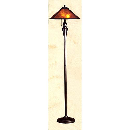 Mission floor lamps mission style torchiere lamps bellacor van erp floor lamp aloadofball Choice Image