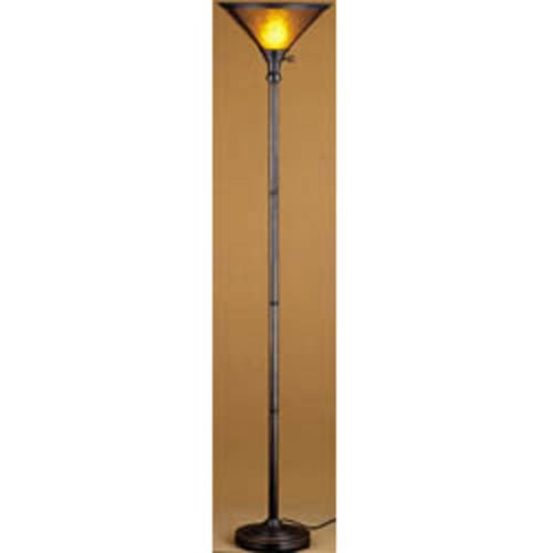 Mica Torchiere Lamp