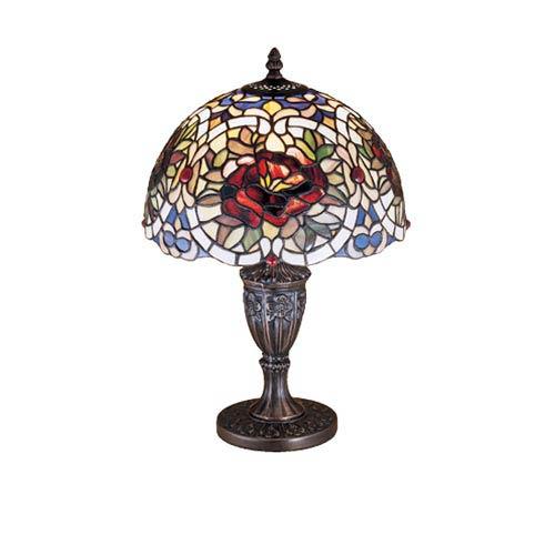 18-Inch Renaissance Rose Accent Lamp