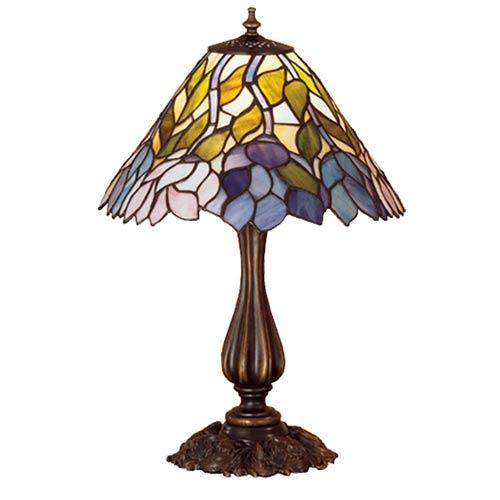 21-Inch Wisteria Accent Lamp