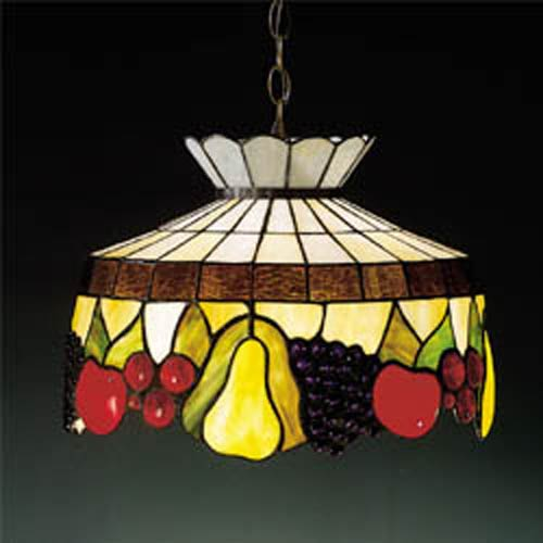 Bent Fruit Tiffany Pendant