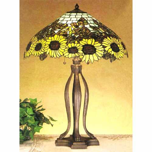 Wild Sunflower Table Lamp