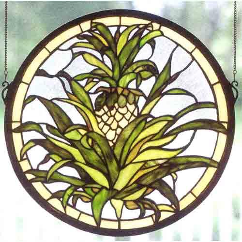 Welcome Pineapple Window