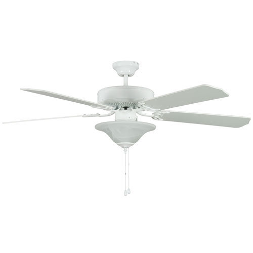 Concord fans heritage square white 52 inch hugger energy star concord fans heritage square white 52 inch hugger energy star ceiling fan with light kit aloadofball Images