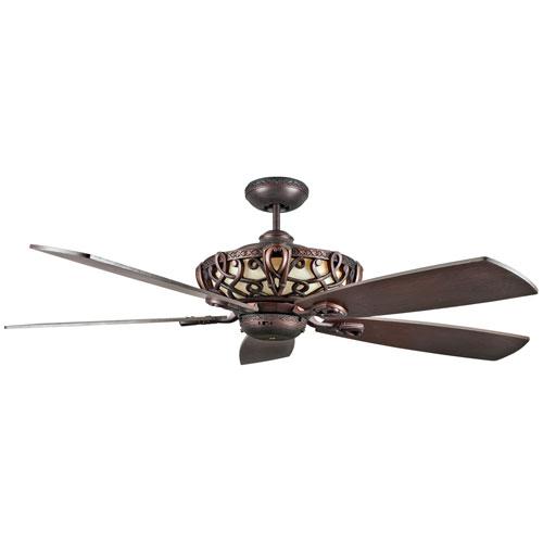 Aracruz Oil Rubbed Bronze 60-Inch Ceiling Fan