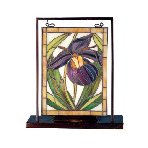 10.5 x 9.5 Lady Slipper Lighted Accent Lamp
