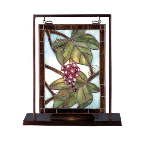 10.5 x 9.5 Nappa Vintage Lighted Accent Lamp