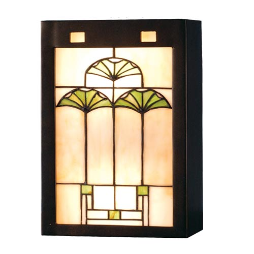 Craftsman Style Lighting For 75inch Ginkgo Wall Sconce Mission Sconces Style Lighting Sconces Bellacor