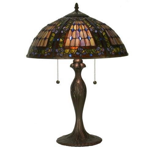 22.5-Inch Fleur-De-Lis Table Lamp