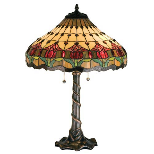 25.5-Inch Colonial Tulip Table Lamp