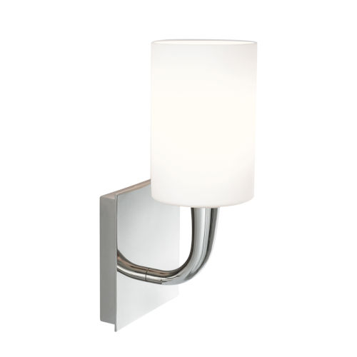 Trumpet Polished Nickel Five-Inch One-Light Wall Sconce