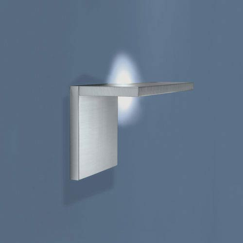 Norwell Edge Brushed Aluminum LED Wall Sconce