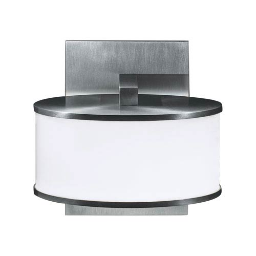 Timbale Brushed Aluminum LED Seven-Inch Wall Sconce