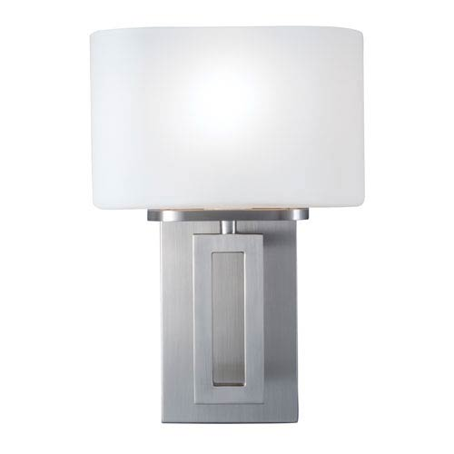 Hamilton Brushed Nickel One-Light Wall Sconce