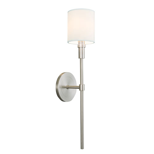 Zavier Brushed Nickel One-Light Wall Sconce