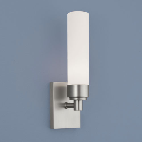 Norwell Alex Brushed Nickel Single Light Wall Sconce