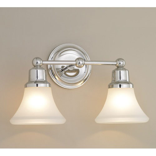 Norwell Elizabeth Brushed Nickel Two Light Wall Sconce
