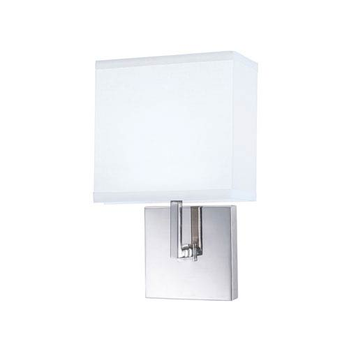 Norwell Maxwell Chrome One-Light Bath Sconce