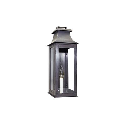 Medium Dark Brass Concord Outdoor Wall Lantern