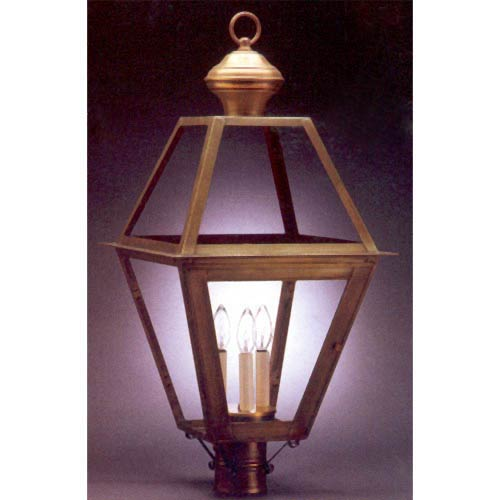 Classic Outdoor Post-Mounted Lantern