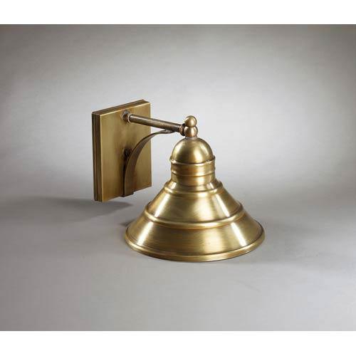 Barn Antique Brass One-Light Outdoor Wall Light