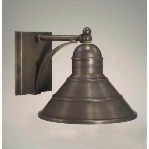 Barn Dark Brass One-Light Outdoor Wall Light