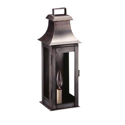 Medium Dark Brass Concord Outdoor Wall Lantern