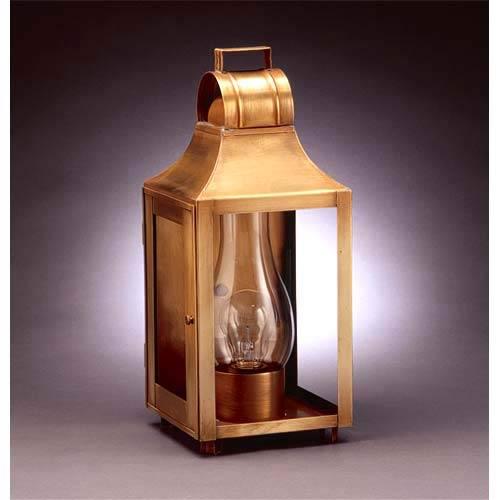 Northeast Lantern Small Antique Brass Barn Outdoor Wall Lantern