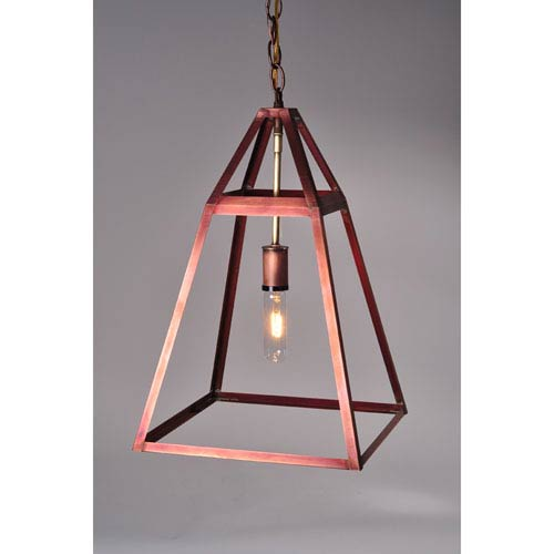 Appledore Antique Copper 12-Inch One-Light Pendant