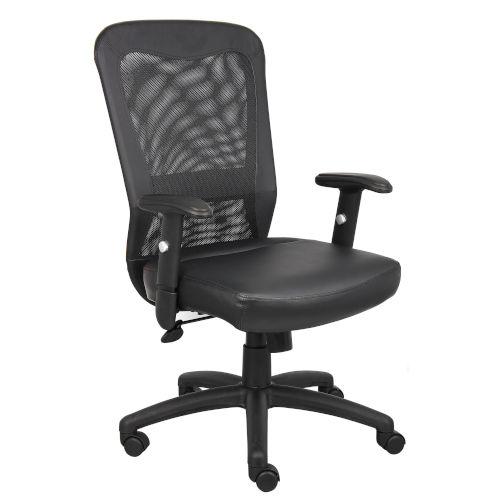 The Boss 27-Inch Black Web Chair