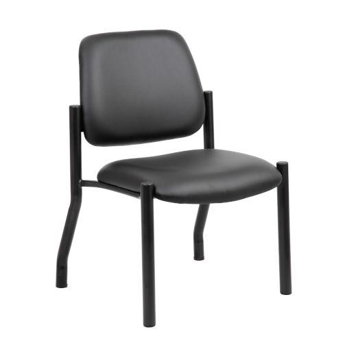 Boss 22-Inch Black Guest Chair