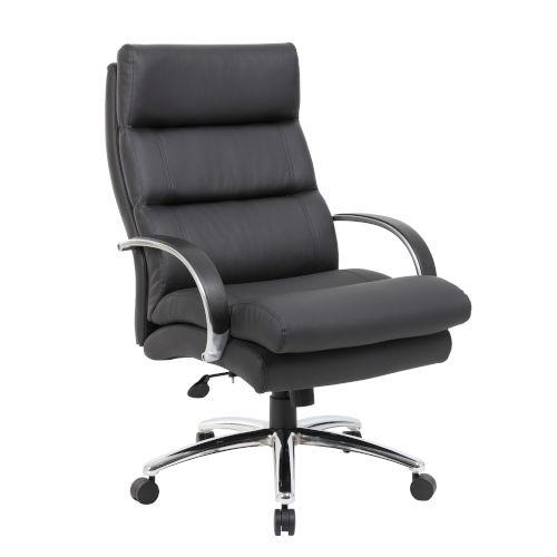 Boss 31-Inch Black Heavy Duty Executive Chair