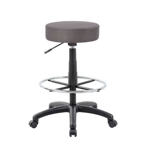 The DOT Drafting Stool, Charcoal Grey