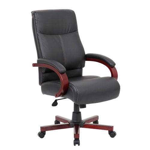 Presidential Office Chair Intended Presidential Seating Boss Leatherplus Executive Chair B19001 Bk