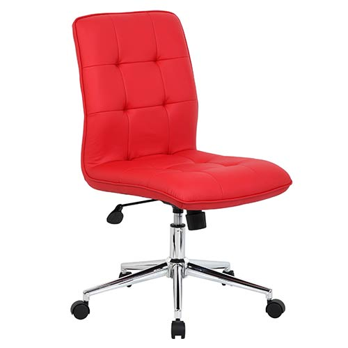 Presidential Seating Red Modern Task Chair