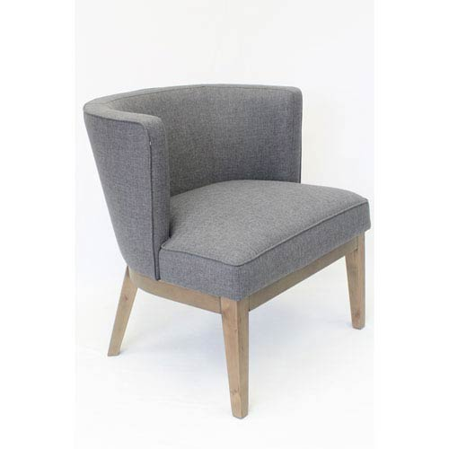 Boss Ava Accent Chair - Slate Grey